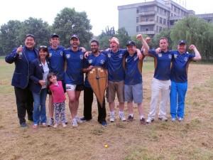 Bashers - Nanjing Rural Sixes Champions 2014