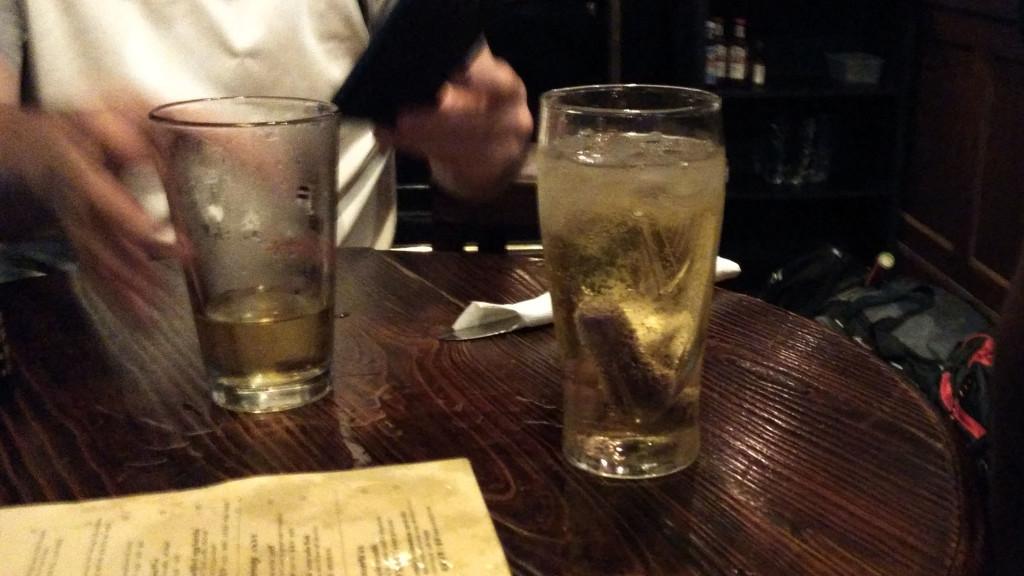 Pleasure in a glass...